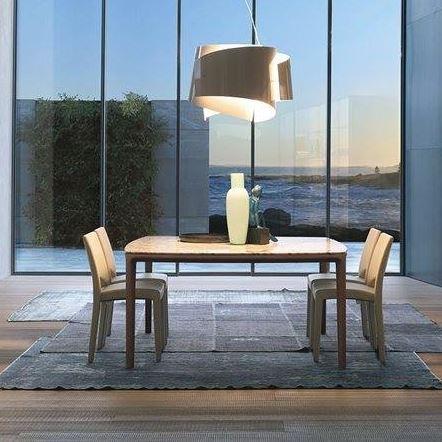 Mofu board square dining table